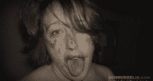Sie möchte deine Scheiße schlucken